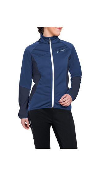VAUDE Resca Softshell Jacket Women sailor blue